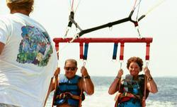 Rigging to parasail