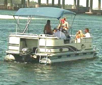 Florida Pontoon Boat Rentals - Blue Water Powerboat Rentals