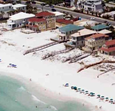 Destin Beach Houses At Crystal Vacation Scenic Gulf Drive