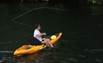 Fly Fishing In A Malibu Kayak